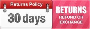 30 Days - refund & exchange policy