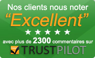 Financement disponible avec Pay4Later et afforditNow (orders over £100)