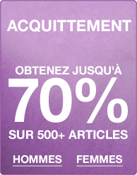 Soldes liquidation - Jusqu'à moins 70%