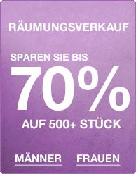 Abverkauf – Bis zu 70% Rabatt