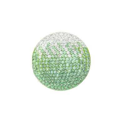 MY iMenso Fade Green With Genuine Swarovski Stones 24mm In 24-0838
