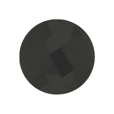 MY iMenso Onyx Faceted Gemstone 33mm Insignia 33-0109
