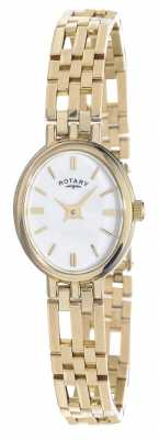 Rotary 9ct Gold Elite Precious Metals Oval Dial LB10090/02