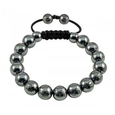 Tresor Paris 17 Magnetite Bead Bracelet 016485