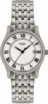 Rotary Mens Silver Tone Steel Watch GBI0792/21