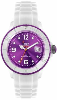 Ice-Watch Unisex Purple Dial White Watch SI.WV.U.S
