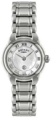Rotary Womens Mother of Pearl Dial Watch LB02601/07L