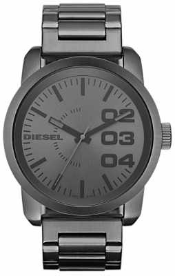 Diesel Mens Grey Stainless Steel Bracelet Watch DZ1558