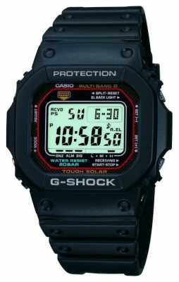 Casio Mens G-Shock Digital Alarm Chronograph GW-M5610-1ER