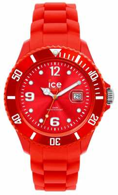 Ice-Watch Unisex Sili Red Mid-Size Watch SI.RD.U.S