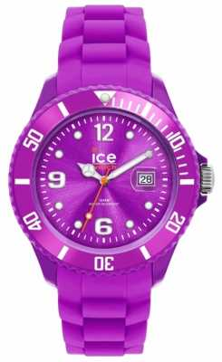 Ice-Watch Unisex Ice-Sili Purple Strap Watch SI.PE.U.S