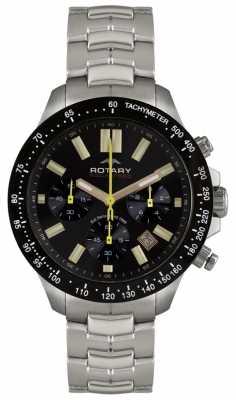 Rotary Gent's Aquaspeed Chronograph Bracelet Watch AGB00074/C/04