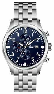Rotary Gent's Chronograph Bracelet Watch GB02680/05
