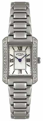 Rotary Womens' Stainless Steel Bracelet Watch LB02650/41