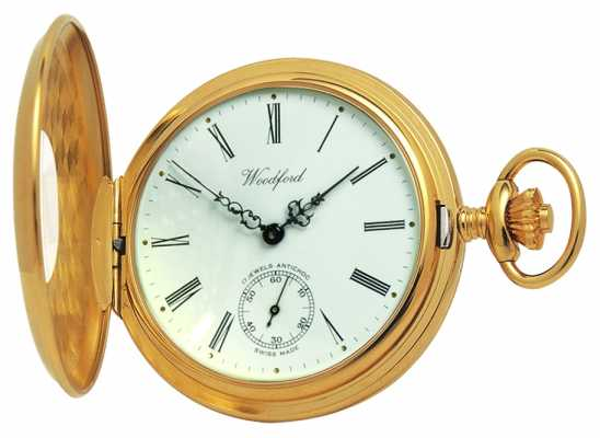 Woodford 1/2 chasseur pocketwatch 1015
