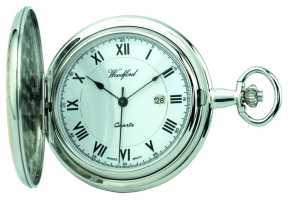 Woodford Mens Full Hunter Pocket Watch 1218