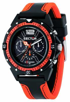 Sector EXPANDER 90 44mm Multifunction Black Dial R3251197021