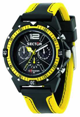 Sector EXPANDER 90 44mm Multifunction Black Dial R3251197022