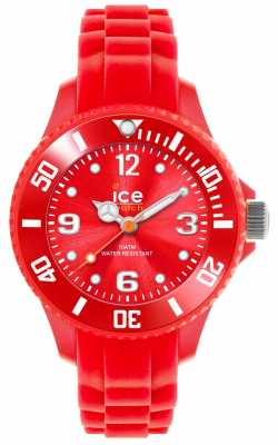Ice-Watch Children's Forever Silicone Red SI.RD.M.S