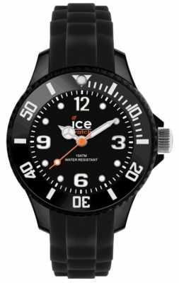 Ice-Watch Children's Forever Sili Date Display Black SI.BK.M.S