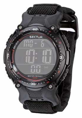 Sector STREET Q. Digital Black Dial/Strap R3251172325