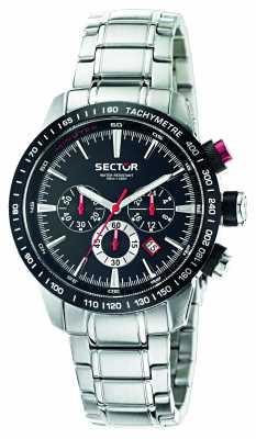 Sector 850 Chrono Black Dial Bracelet R3273975002