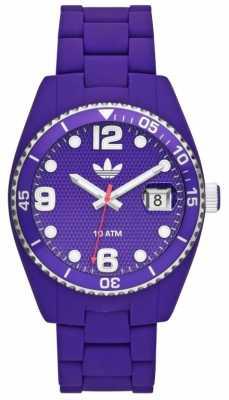 adidas Originals Unisex Brisbane Purple Rubber Watch ADH6178