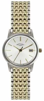 Rotary Ladies Timepieces Two Tone Watch LB02751/03
