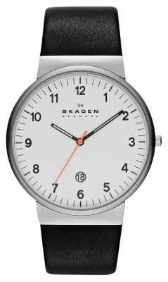 Skagen Mens Klassik White and Black Watch SKW6024