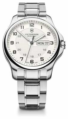 Victorinox Swiss Army Mens Officers Stainless Steel Watch 241551.1