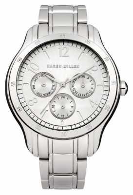 Karen Millen Womens' Stainless-Steel Round Dial Watch KM129SM
