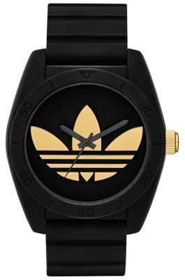 adidas Originals Santiago Black & Gold Watch ADH2912