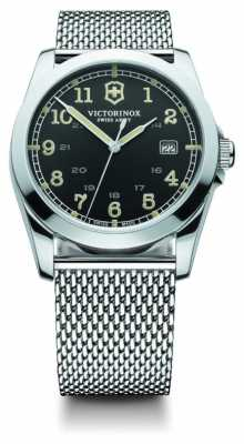 Victorinox Swiss Army Mens Steel Mesh Infantry 241585