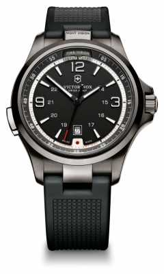 Victorinox Swiss Army Mens Night Vision Rubber 241596