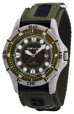 Kahuna Kahuna Mens Green Velcro Watch K5V-0003G