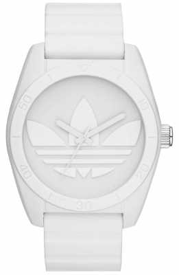 adidas Originals Unisex Santiago White Watch ADH6166