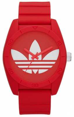 adidas Originals Unisex Santiago Cherry Red Watch ADH6168