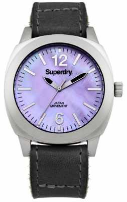 Superdry Ladies Mother of Pearl Luxe Watch SYL117B