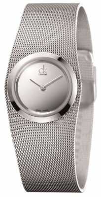 Calvin Klein Womens' Impulsive Stainless Steel Silver Dial Watch K3T23128
