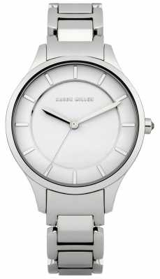 Karen Millen Womens' Stainless Steel Slim Bangle Strap Watch KM133SM