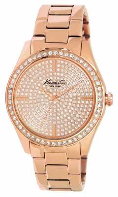 Kenneth Cole Womens' Own The Night Rose Gold Watch KC4958