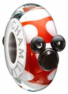 Chamilia Red White & Minnie w Murano Glass 2110-1139