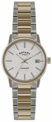 Rotary Mens Timepieces Avenger Two Tone Watch GB02875/06