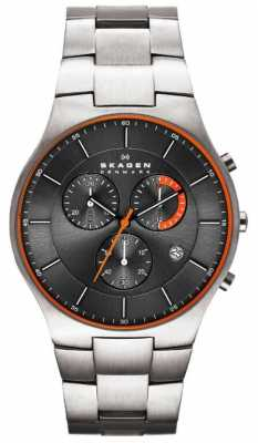 Skagen Mens Aktiv Titanium Watch SKW6076