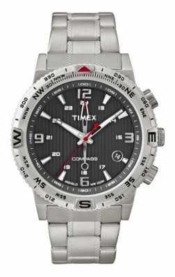 Timex Intelligent Quartz Mens Compass Watch T2P289