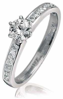 0.65ct Diamond (G SI1) 18ct White Gold BJR0098(WG)