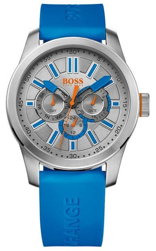 hugo boss orange mens silver dial watch 1512995 hugo boss orange 1512995