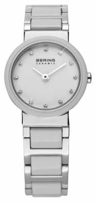 Bering Dual Tone Ceramic Watch 10725-754