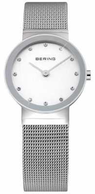 Bering Time Ladies Silver Mesh Watch 10126-000