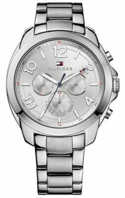 Tommy Hilfiger Mens Serena, Steel, Multi Dial Watch 1781391